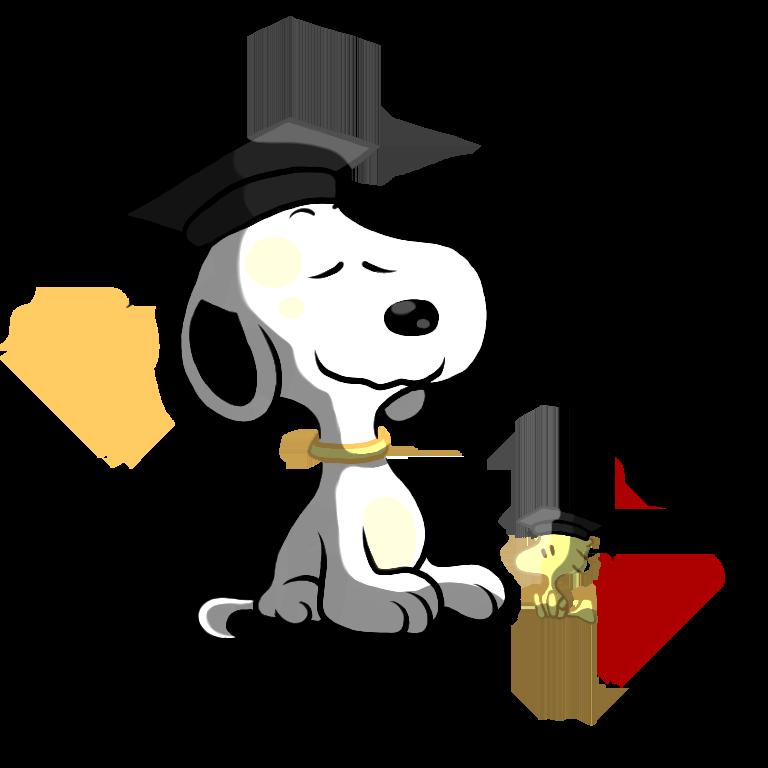 768x768 Snoopy Clipart Graduation