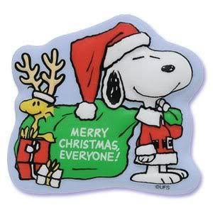 300x300 Snoopy Clipart Santa