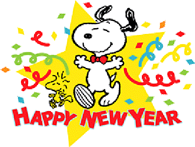 400x303 Snoopy New Year Clip Art Merry Christmas And Happy New Year 2018