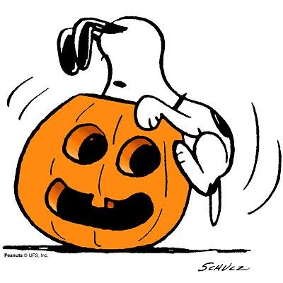400x400 Snoopy Pumpkin Clipart