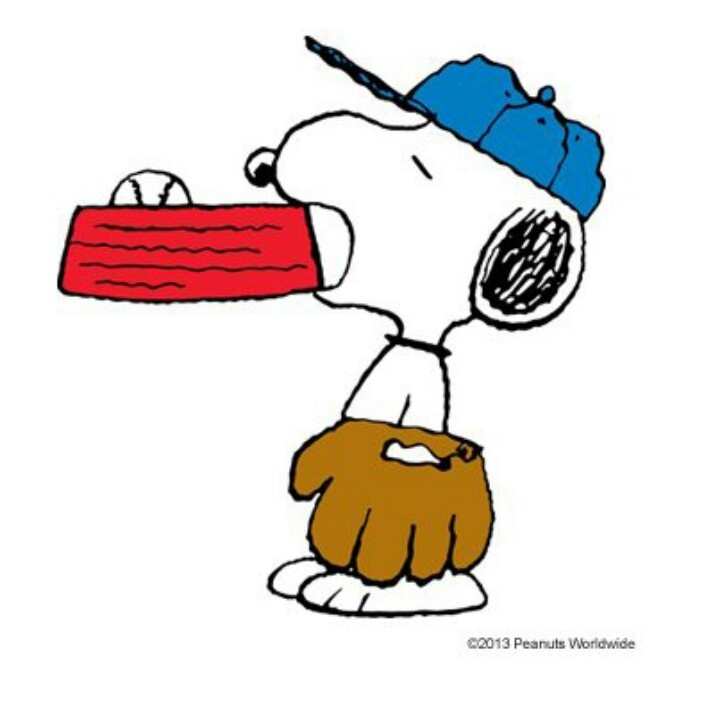 720x720 Snoopy Clipart Baseball