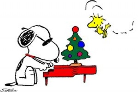 480x320 Download Snoopy Amp Woodstock Xmas 33952 Nature Amp Landscape Mobile