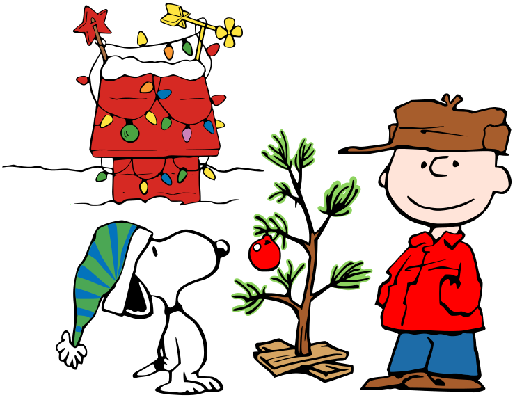 740x575 Merry Christmas Clipart Snoopy