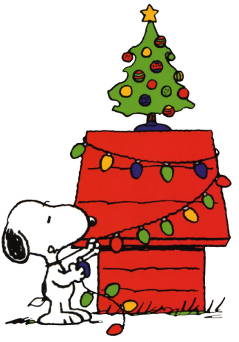 800x1146 Snoopy And Charlie Brown Christmas Clipart