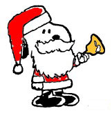 162x164 Snoopy Christmas Clip Art