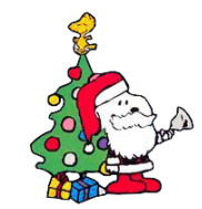 182x189 Snoopy Christmas Clip Art