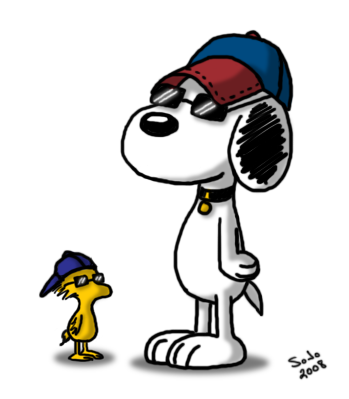 349x399 Snoopy And Woodstock Clipart