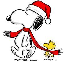 236x218 Snoopy Christmas Clip Art