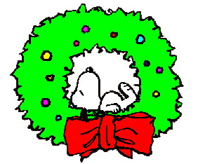 292x234 Winter Snoopy Clipart