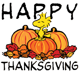 260x240 Peanuts Happy Thanksgiving Clipart