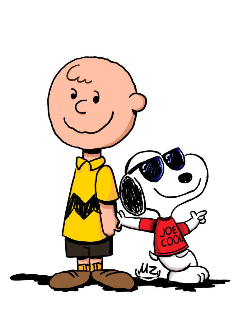 762x1048 Charlie Brown And Snoopy (Joe Cool) By 822peppermintpatty66