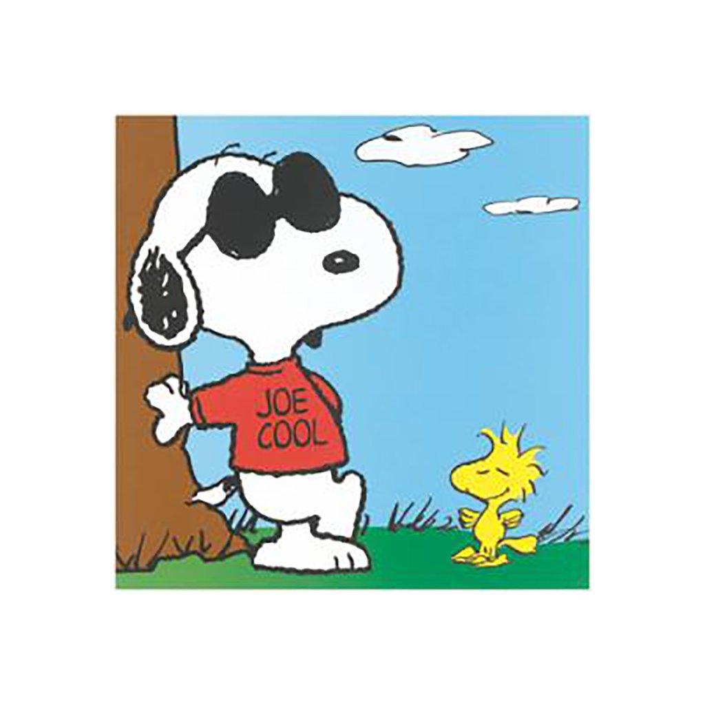 1024x1024 Snoopy (Joe Cool) Art Print Bombay Merch