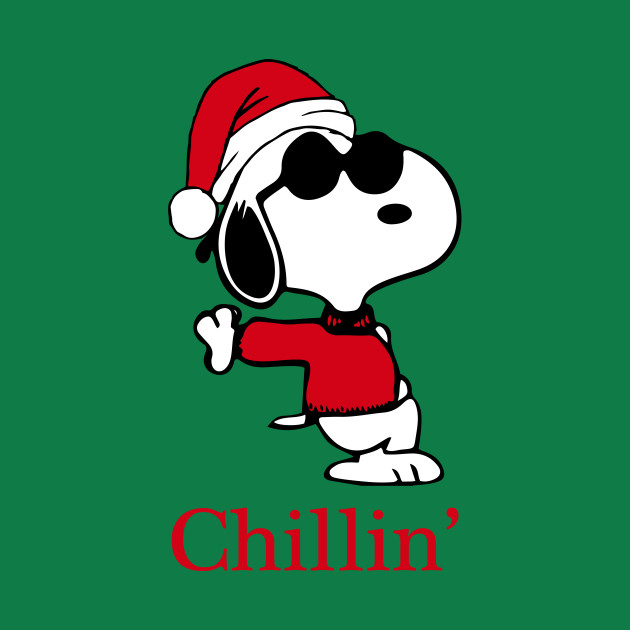 630x630 Snoopy Joe Cool Is Chillin' This Christmas
