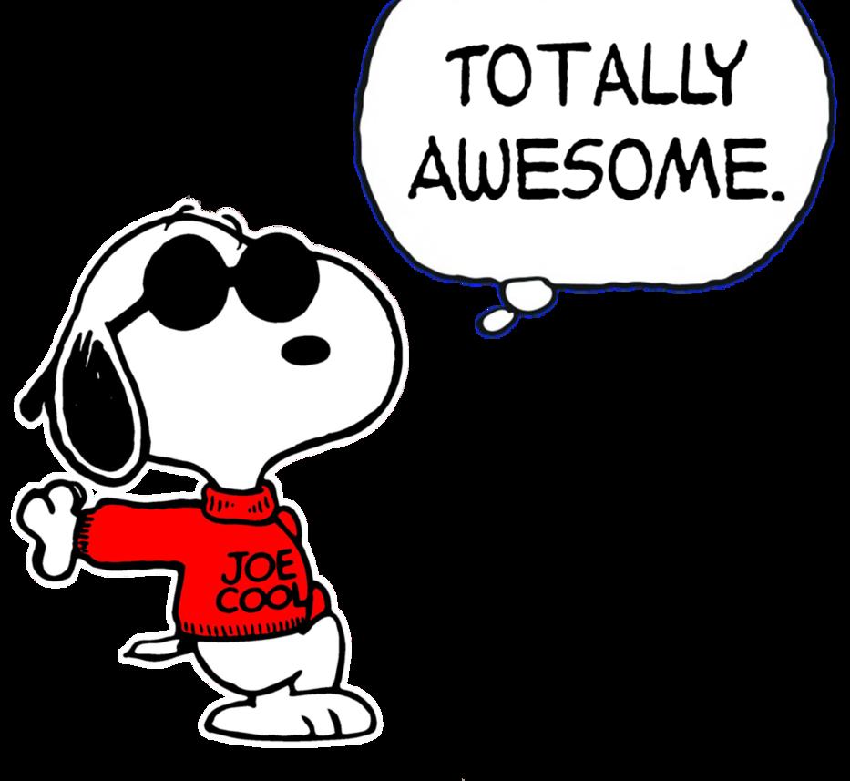 933x857 Snoopy Clipart Joe Cool
