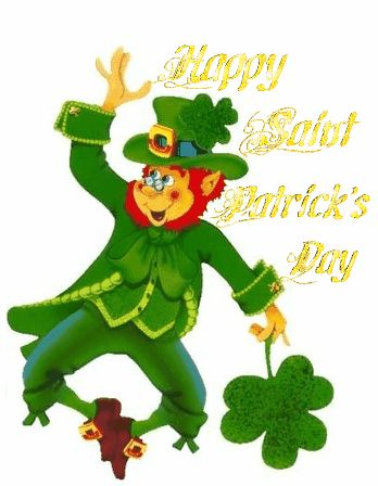 348x448 95 Best Animated Saint Patrick's Day Images
