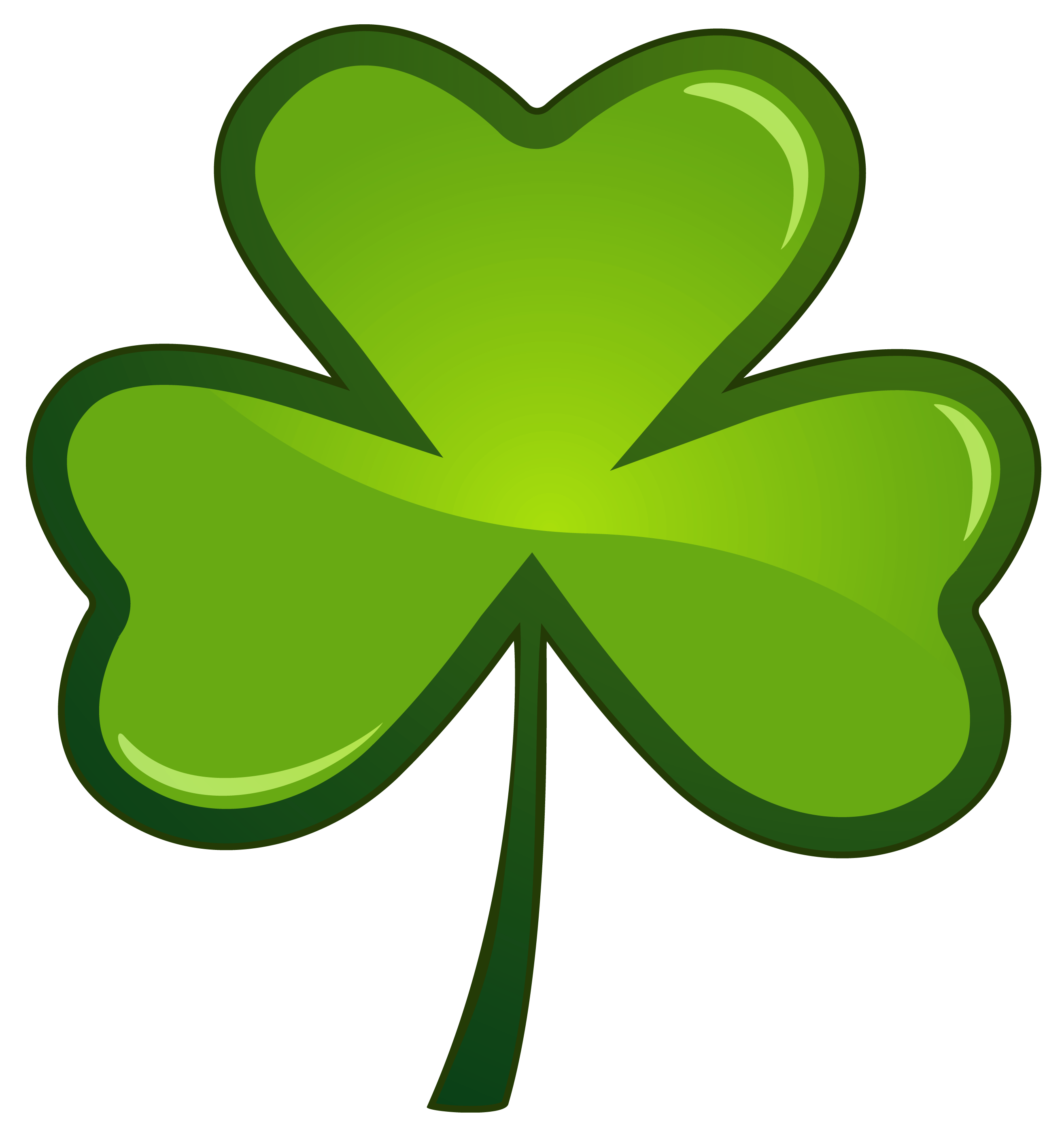 2629x2797 Clover Clipart St Patricks Day