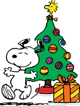 324x432 Annimated Snoopy And Woodstock Christmas Clipart