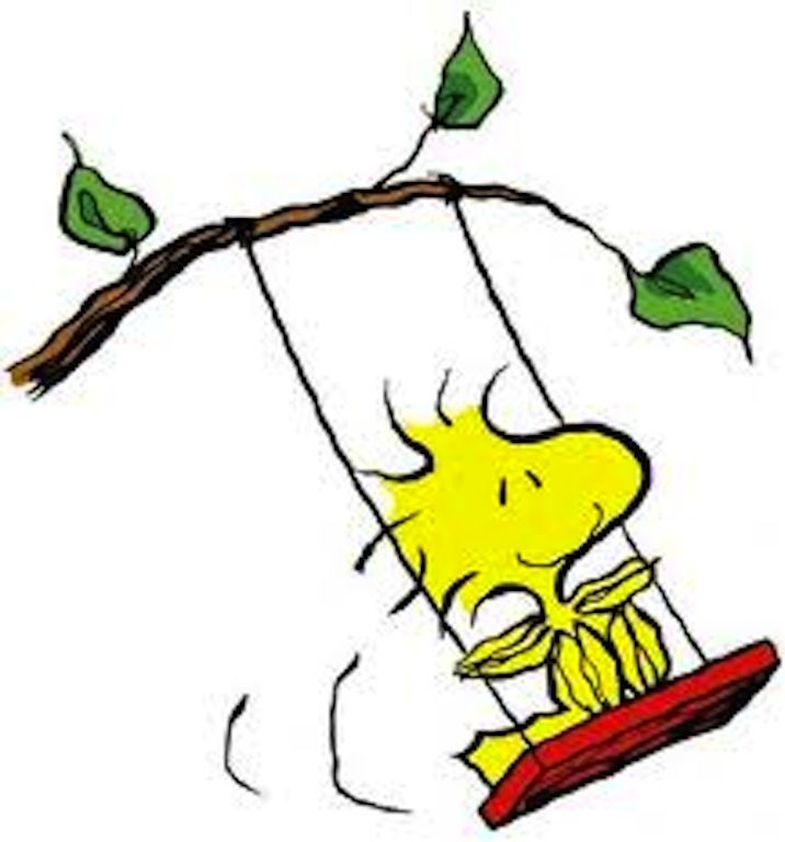 716x768 Image result for snoopy on a swing clipart Snoopy Classroom