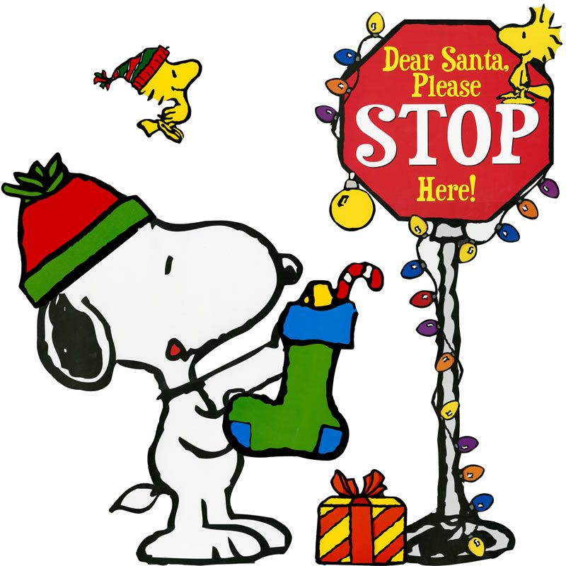 800x800 Snoopy clipart holiday