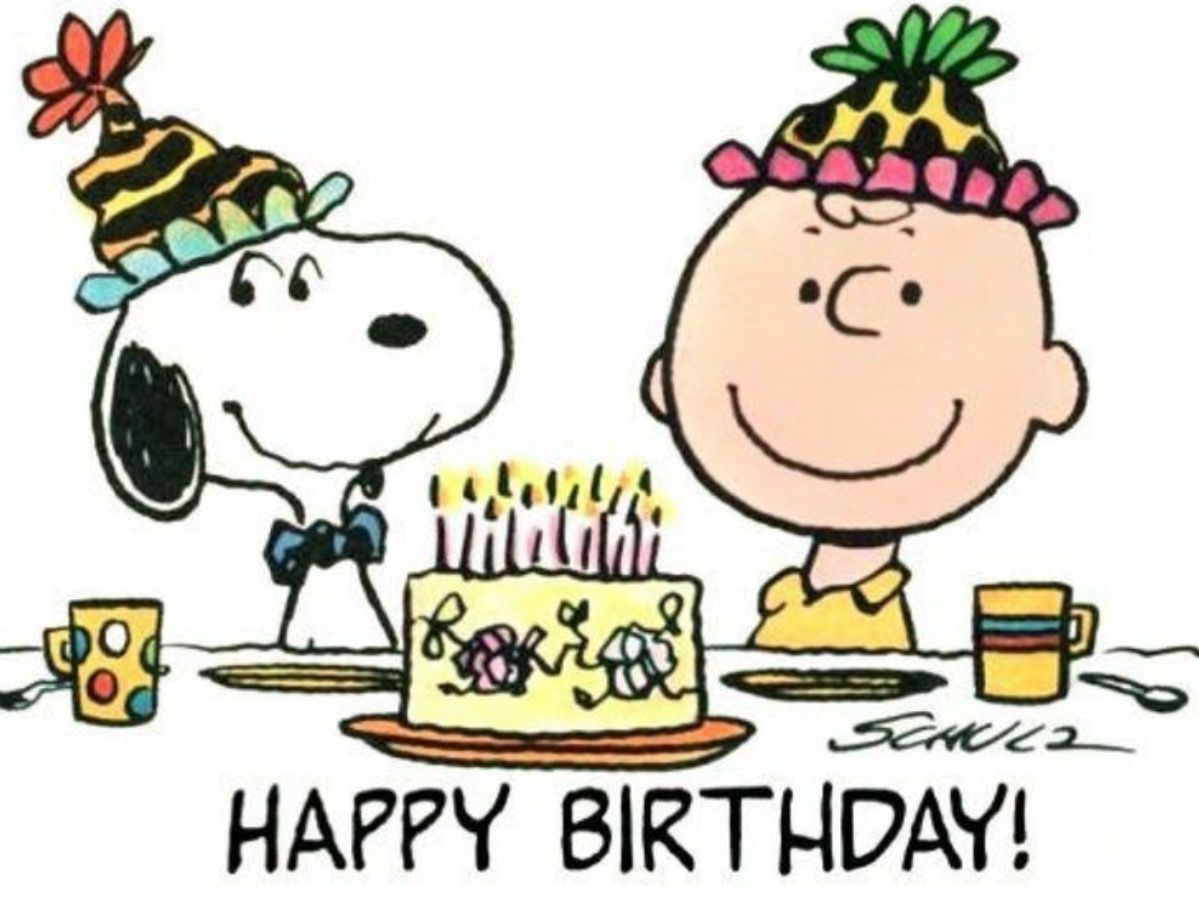 1199x898 Pin By Angela Ribo On Snoopy Birthday Greetings