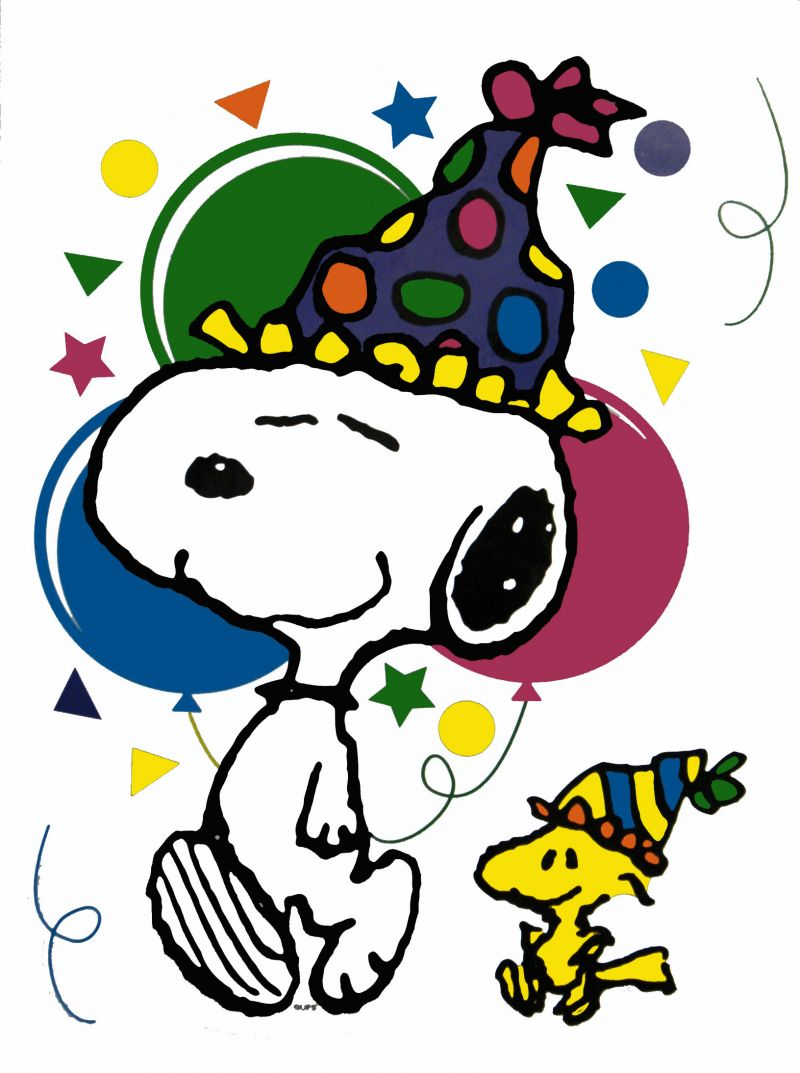 800x1073 Snoopy Birthday Clipart