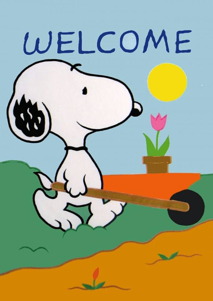 681x960 Welcome, Spring Spring Is In The Air Snoopy