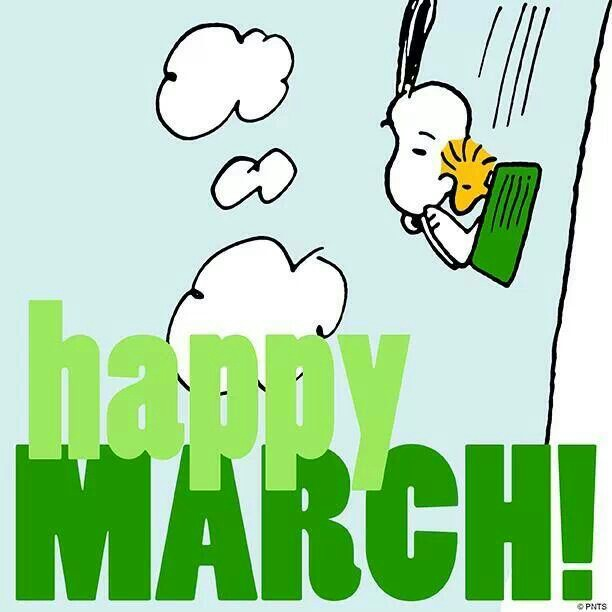 612x612 Welcome March! I Love Snoopy! March, Snoopy
