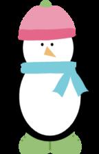 144x224 Winter Penguin Clip Art