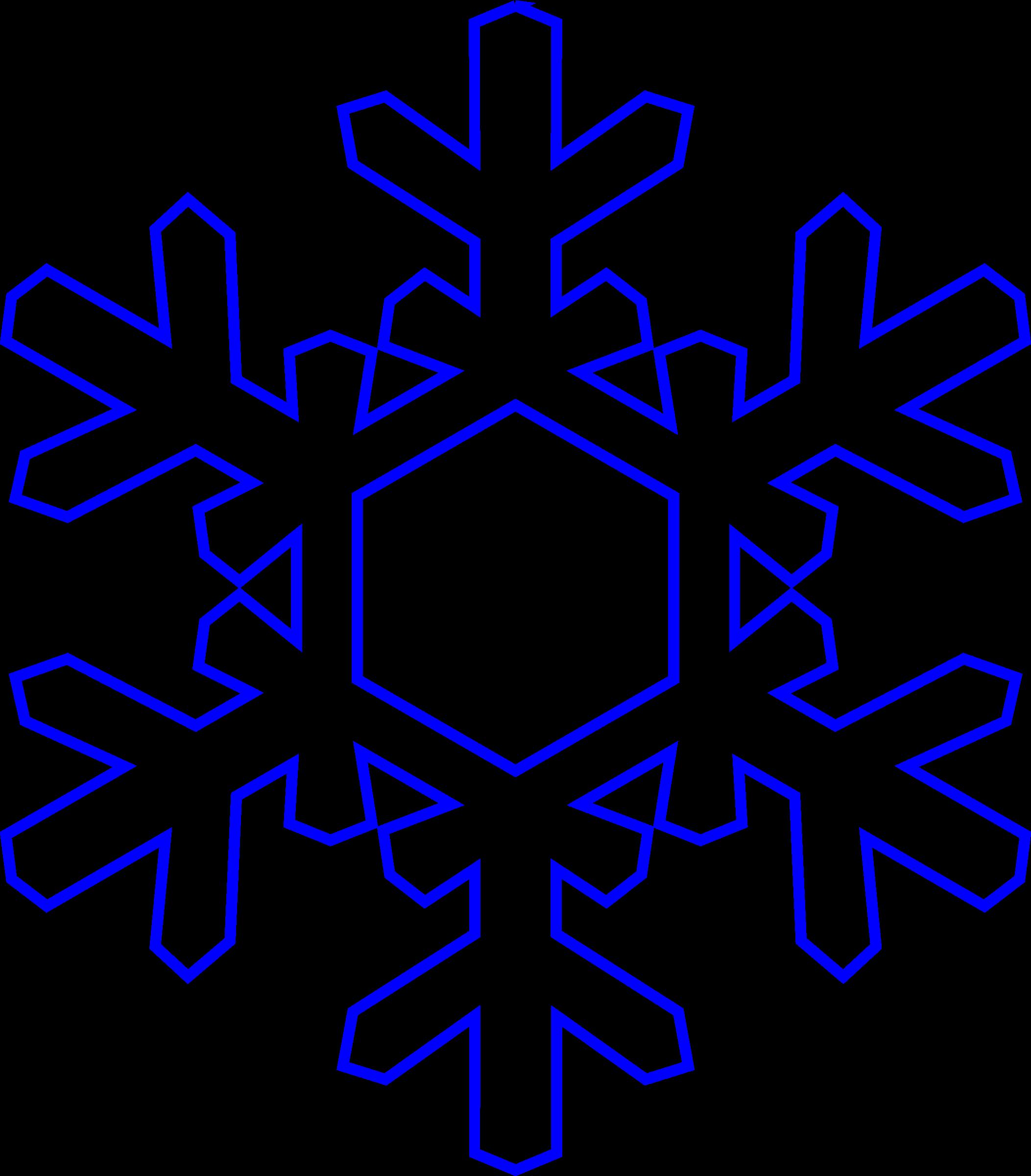2105x2400 Snowflake Outline Clip Art