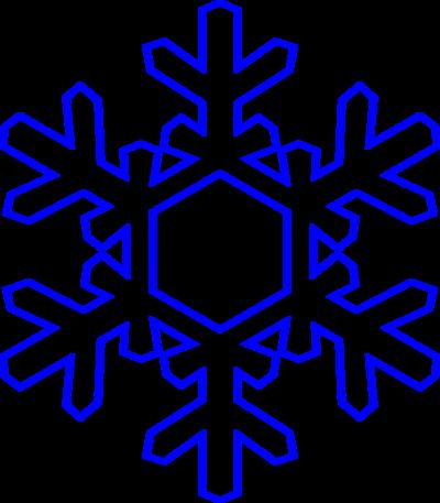 400x457 Top 75 Snowflake Clip Art