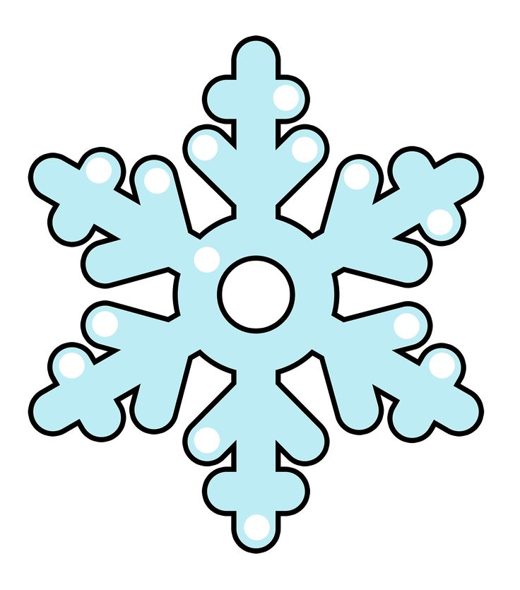 736x835 Top Snowflake Clip Art Free Clipart Image