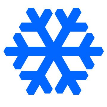 360x360 Snowflake Clip Art Free Printable Archives