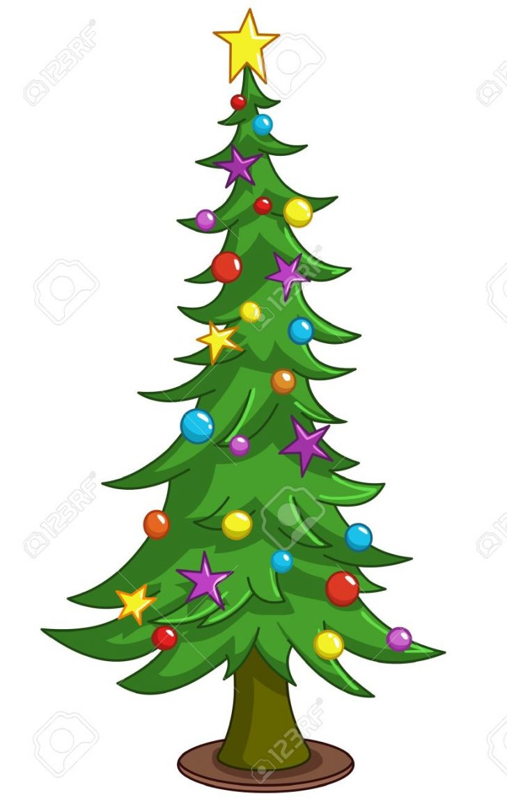 728x1151 Christmas ~ Cartoon Christmas Tree Clip Art Images Pictures Trees