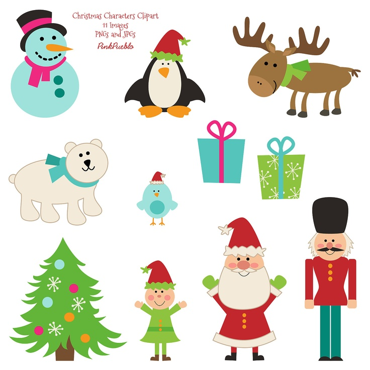 736x736 17 Best Christmas Clip Art Images Snow, Snowflakes