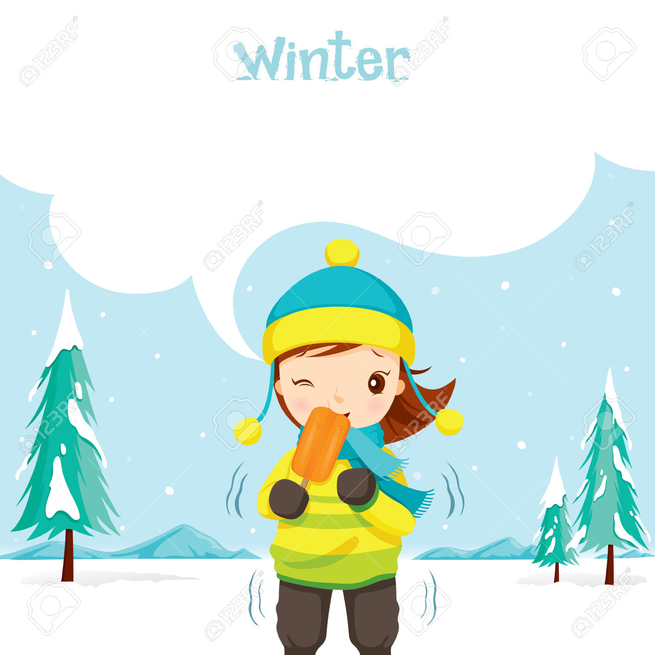 1300x1300 Season Clipart Snow Ice