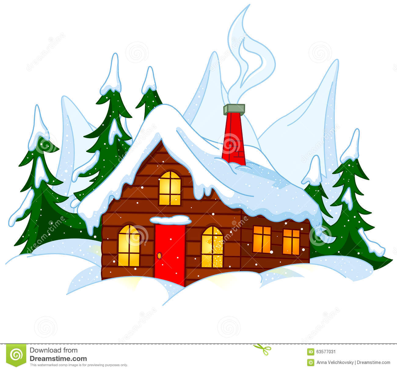 1300x1214 Snow Clipart Chimney