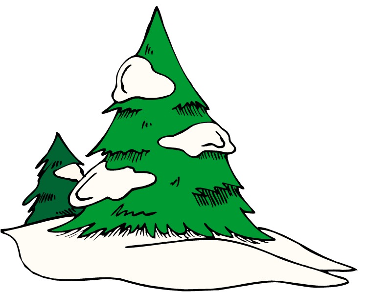 750x598 Tree Clipart Snow