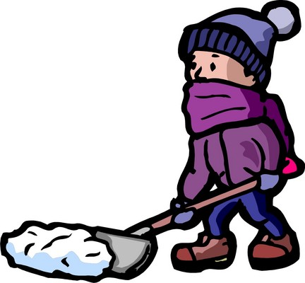 432x400 Snow Shovel Clipart