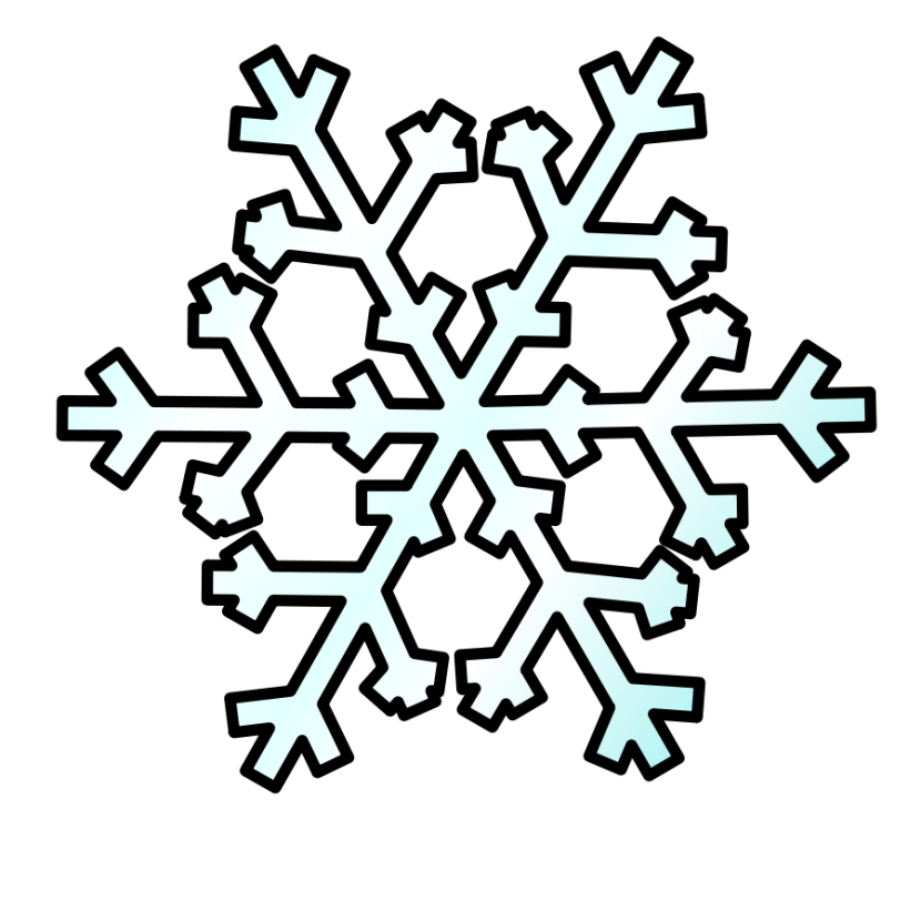 830x830 Snow clipart free images 2