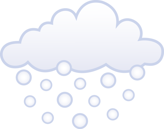 550x434 Snow Clipart Snowy Weather