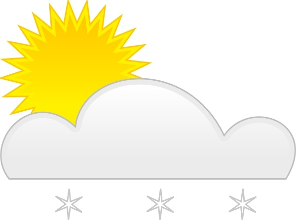 600x447 Sun Snow Clip Art Free Vector In Open Office Drawing Svg