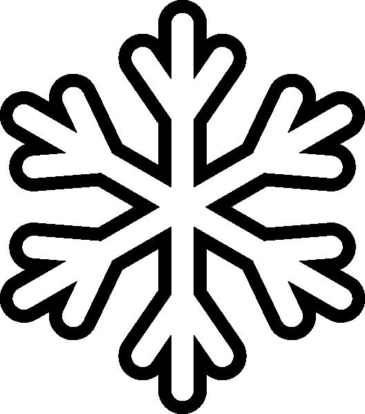 528x599 Clip art snow · Snow outline Clipart Panda
