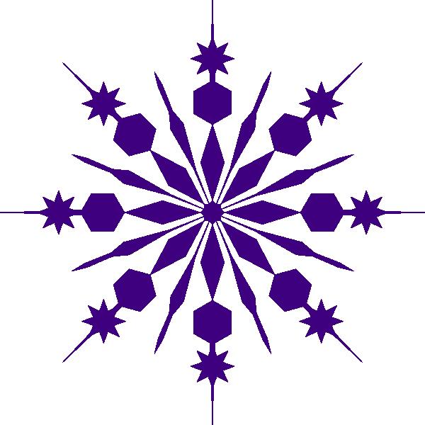 600x600 Snowflake Clip Art Purple Snowflake Clip Art