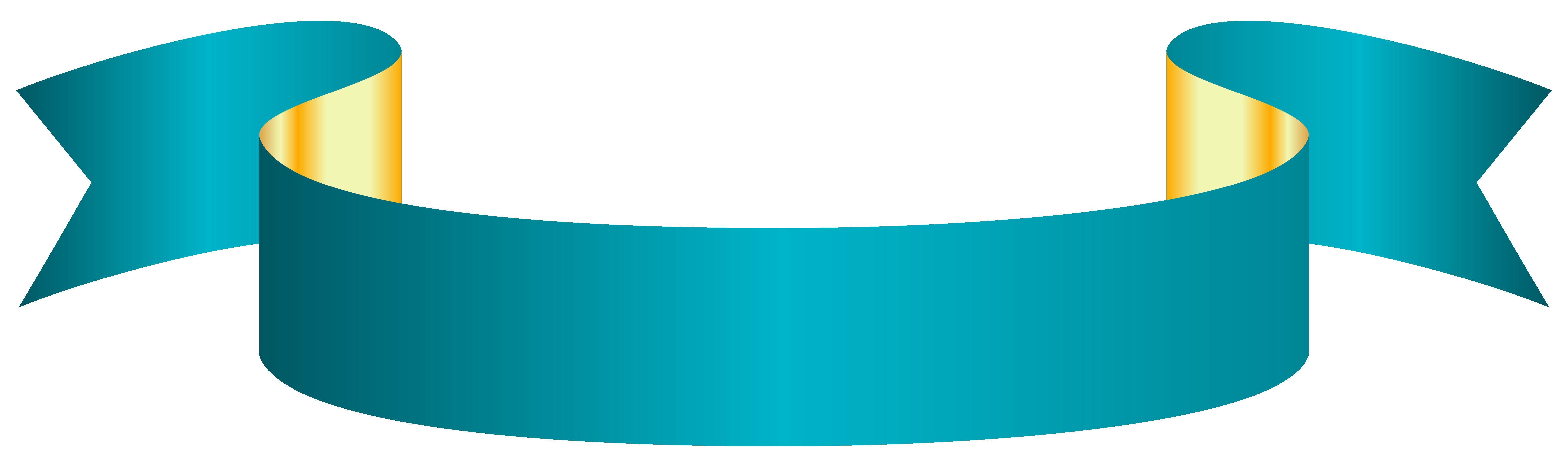 6288x1861 Blue Banner Transparent Png Clip Art Image As Art