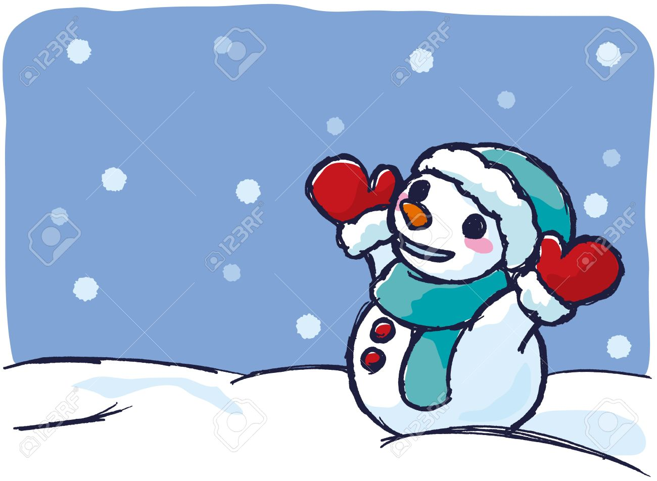 1300x952 Snow Day Clipart