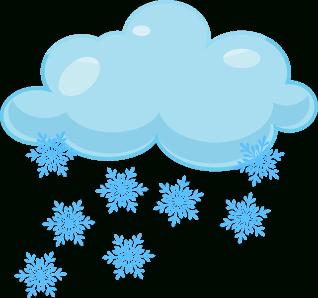 640x599 Top 10 Snowing Clipart