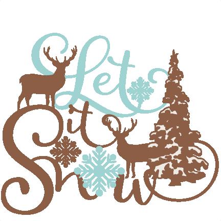 432x432 Let It Snow Clip Art Cliparts