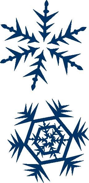 288x590 Snow Clipart