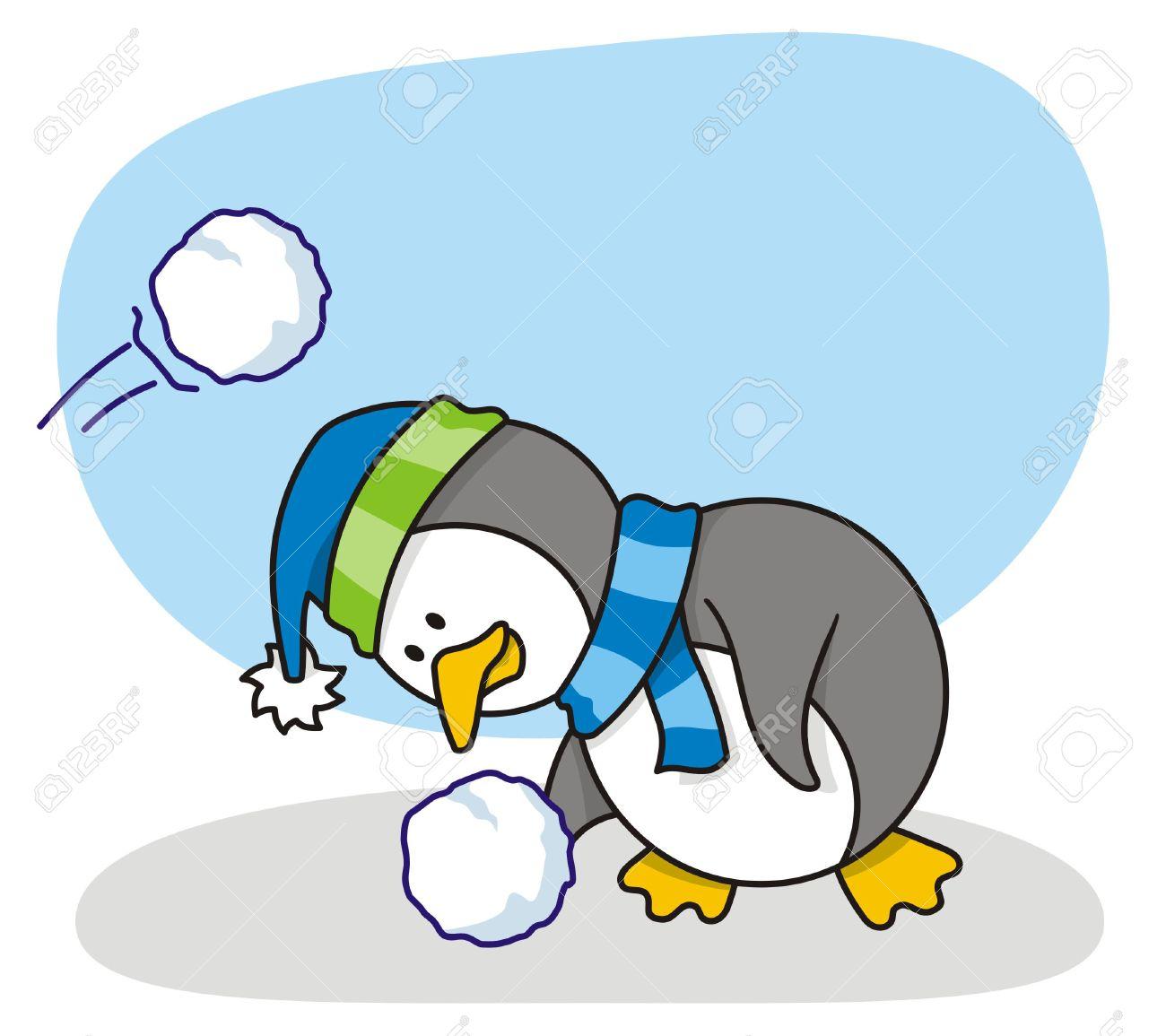1300x1155 Snow Clipart Penguin