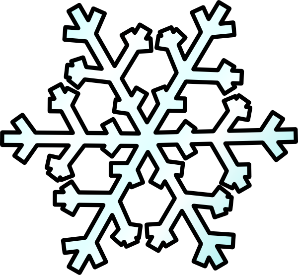 600x554 Snow Cartoon Clipart
